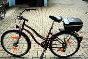 Damen perfektes Fahrrad