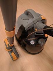 dampfsauger staubsauger robot 100 mit umfangreichem. Black Bedroom Furniture Sets. Home Design Ideas