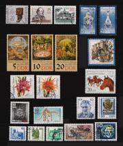 DDR-Briefmarken aus