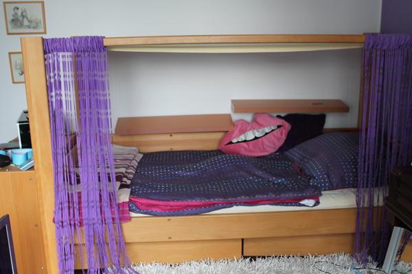 de breuyn jugend himmelbett trix trax buche massiv ge lt hochwertig in stuttgart schr nke. Black Bedroom Furniture Sets. Home Design Ideas
