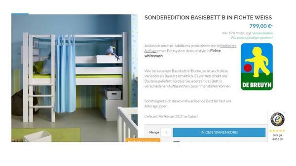 hochbett weiss gebraucht kaufen 2 st bis 60 g nstiger. Black Bedroom Furniture Sets. Home Design Ideas