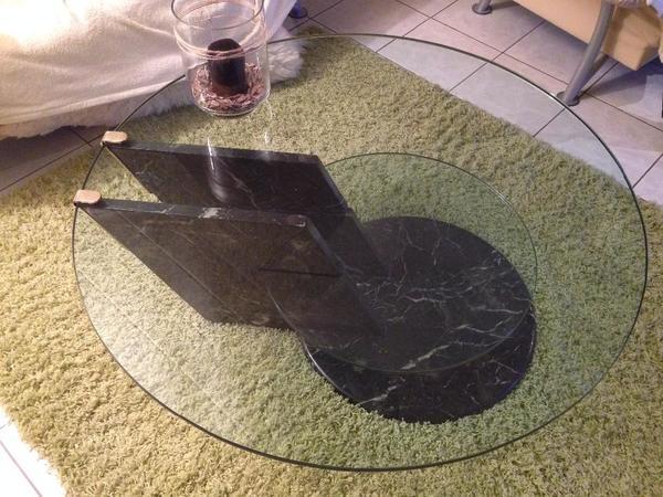 Marmor glas tisch kaufen gebraucht und g nstig for Designer couchtisch glas marmor