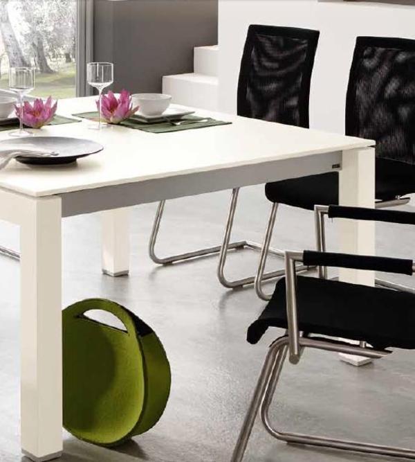 Tischplatte wei neu und gebraucht kaufen bei for Esstisch ausklappbar