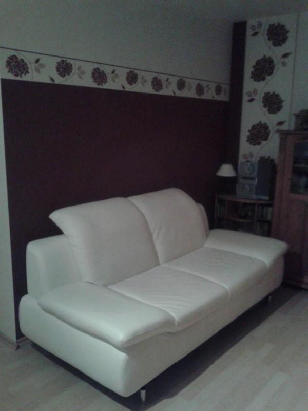 designer ledersofa wei in darmstadt polster sessel. Black Bedroom Furniture Sets. Home Design Ideas