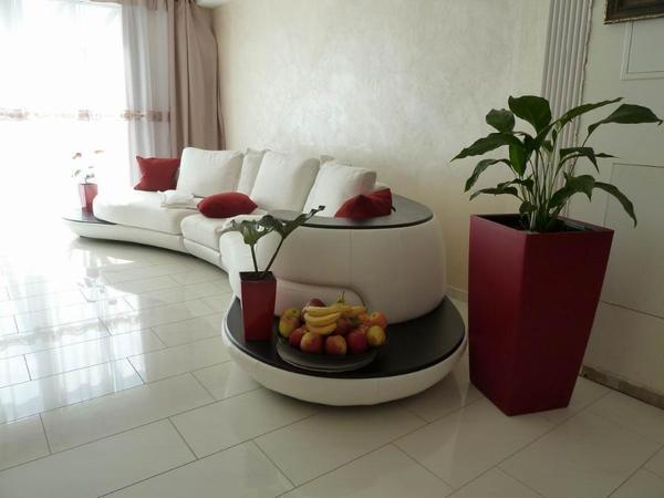 designer loungesofa echtleder inselform in der sch nen. Black Bedroom Furniture Sets. Home Design Ideas