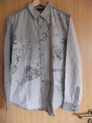 DESIGUAL Herren Langarmhemd