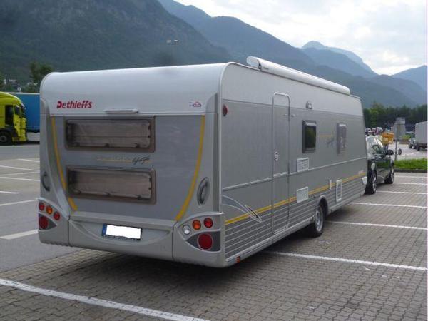 dethleffs camper lifestyle 560 sk mit winterkomfortpacket. Black Bedroom Furniture Sets. Home Design Ideas