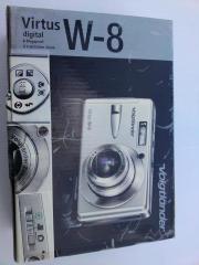 Digitalkamera Voigtländer Virtus W- 8 Ich biete hier eine kompakte Digitalkamera Voigtländer Virtus W-8 an. Der optische 4-fach-Zoom bei der Voigtländer Virtus W-8 überzeugt bei ... 80,- D-63739Aschaffenburg Heute, 18:02 Uhr, Aschaffenburg - Digitalkamera Voigtländer Virtus W- 8 Ich biete hier eine kompakte Digitalkamera Voigtländer Virtus W-8 an. Der optische 4-fach-Zoom bei der Voigtländer Virtus W-8 überzeugt bei