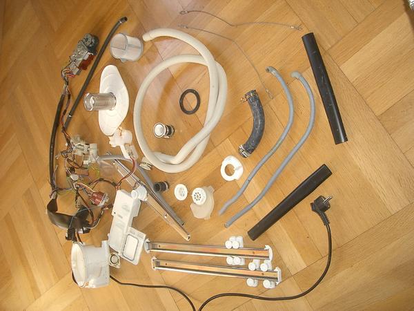 div gebrauchte ersatzteile aus gebrauchter proset  ~ Geschirrspülmaschine Juno Ersatzteile