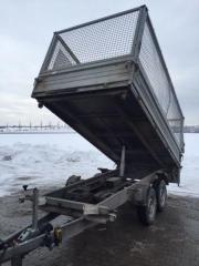 Dreiseitenkipper, 3500 kg,