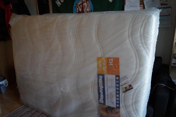 dunlopillo dynamic comfort h2 140x200 cm matratze neuwertig in jena matratzen rost bettzeug. Black Bedroom Furniture Sets. Home Design Ideas
