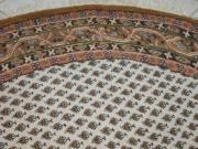 echter runder Orientteppich (