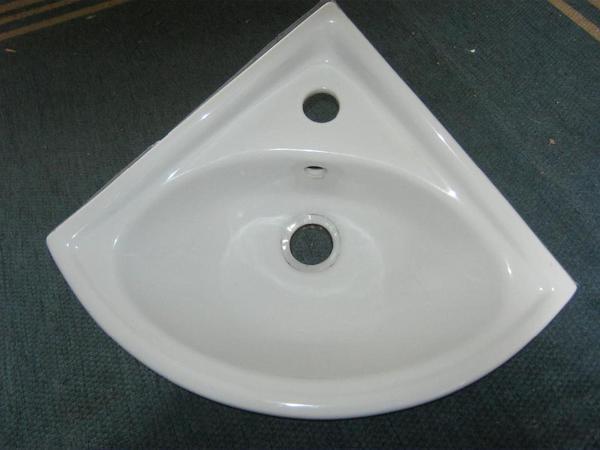 Eck Waschbecken, gebraucht in Jockgrim  Bad, Einrichtung  ~ Waschbecken Jasmin Gebraucht