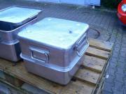 Edelstahlbehälter mit Deckel (