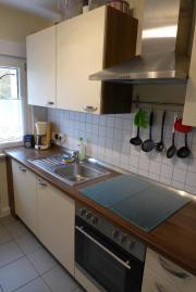 Einbauküche (Farbe cremeweiß/