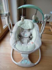 Elektrische Babyschaukel, wie