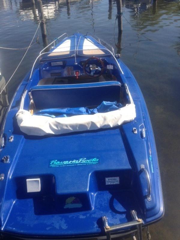 elektro motorboot in chieming motorboote kaufen und. Black Bedroom Furniture Sets. Home Design Ideas