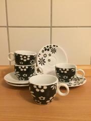 Espressotassen Set mit