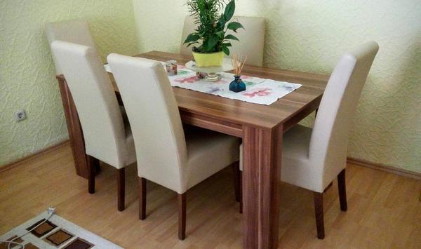 esstisch nussbaum kaufen gebraucht und g nstig. Black Bedroom Furniture Sets. Home Design Ideas