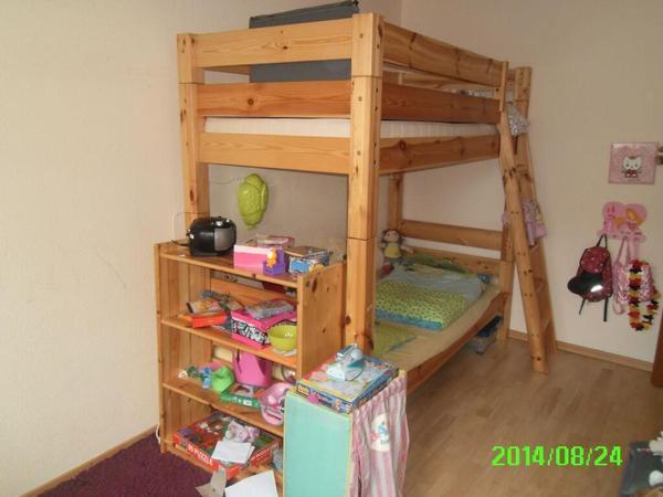 Etagenbett massivholz kinder jugendzimmer for Jugendzimmer etagenbett