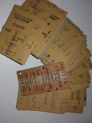 Fahrkarten alt 1983