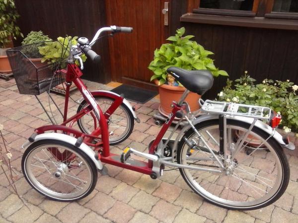 fahrrad dreirad frontdreirad in lampertheim sonstige. Black Bedroom Furniture Sets. Home Design Ideas
