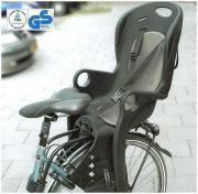 Fahrrad-Kindersitz schwarz