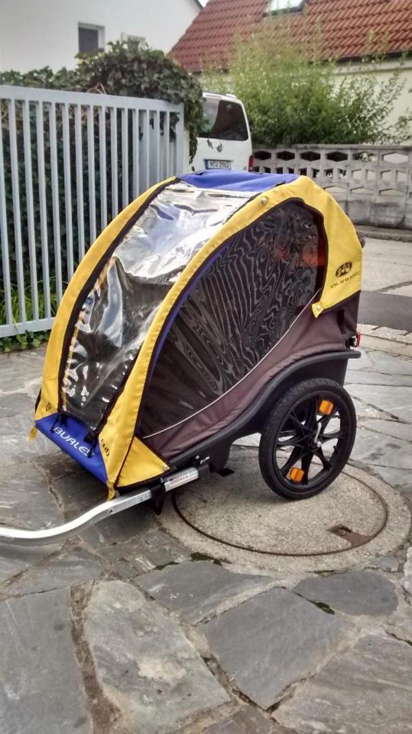 fahrradanh nger burley cub in ismaning kinderfahrzeuge. Black Bedroom Furniture Sets. Home Design Ideas
