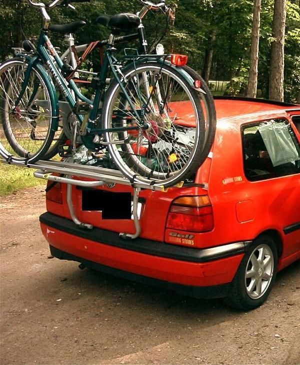 fahrradtr ger hecktr ger heckhalterung golf vw in magdeburg fahrrad dachgep cktr ger. Black Bedroom Furniture Sets. Home Design Ideas