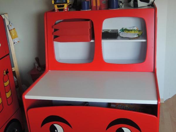 Kinder jugendzimmer komplett einrichtungen wiesbaden for Feuerwehr kinderzimmer komplett