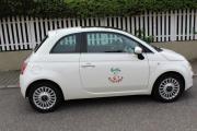Fiat 500 Scheckheftgepfegt -