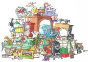 Flohmarktware,Trödel und