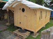 Freizeithütte oder Sauna