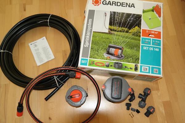 gardena bew sserungssystem neu in berlin gartenger te rasenm her kaufen und verkaufen ber. Black Bedroom Furniture Sets. Home Design Ideas