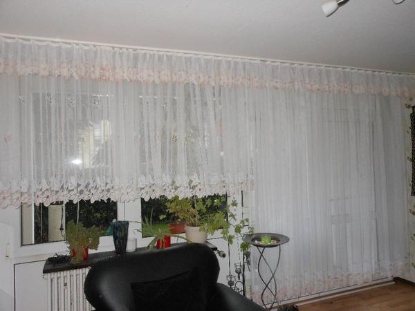 Fenster Gardinen Lang : Gardine,Vorhänge 3 Teilig in Mannheim  Gardinen, Jalousien kaufen
