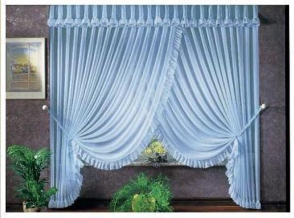 gardinen mit r schen volant in kaiserslautern gardinen jalousien kaufen und verkaufen ber. Black Bedroom Furniture Sets. Home Design Ideas