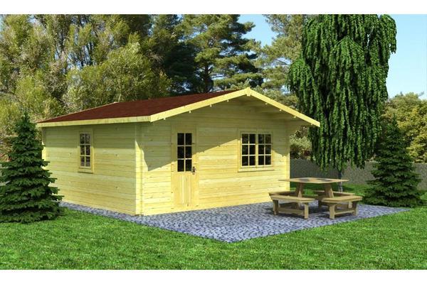 gartenhaus ferienhaus 500x500 cm in herrenberg schreberg rten wochenendh user kaufen und. Black Bedroom Furniture Sets. Home Design Ideas