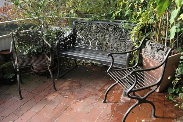 Kettler Gartenmobel Stapelsessel : Gartenmöbel Bank und Stühle Gusseisen  KarlFriedrich Schinkel in