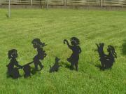 Gartenstecker, Schattenspiel