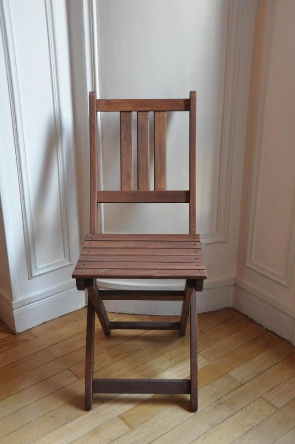 gartenstuhl holz klappbar in berlin gartenm bel kaufen und verkaufen ber private kleinanzeigen. Black Bedroom Furniture Sets. Home Design Ideas