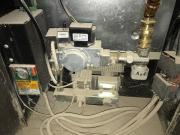 Gas Heizeinsatz von