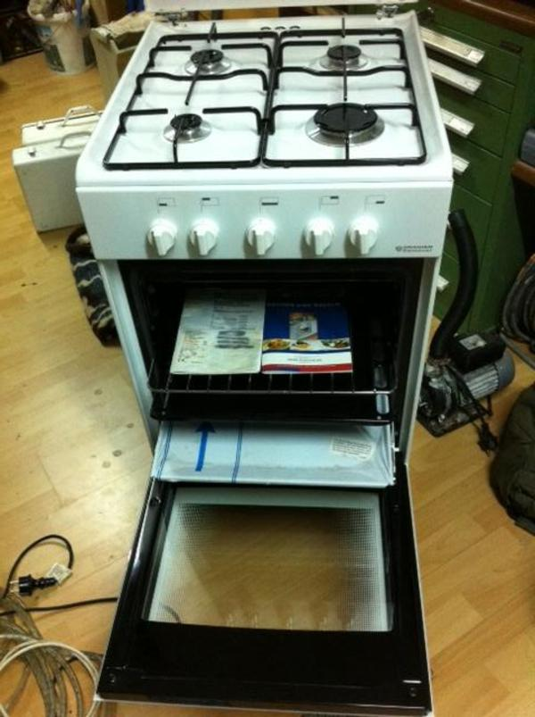 gasherd oranier dessauer in strullendorf k chenherde grill mikrowelle kaufen und verkaufen. Black Bedroom Furniture Sets. Home Design Ideas