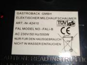 Gastroback 42414 Automatischer