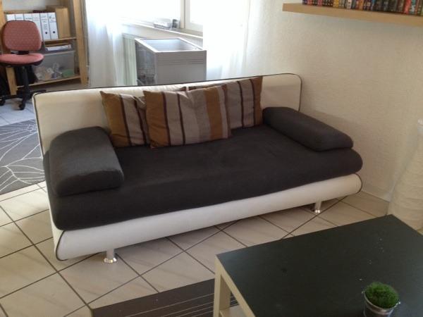 gem tliche und stylische schlafcouch in pfinztal polster sessel couch kaufen und verkaufen. Black Bedroom Furniture Sets. Home Design Ideas
