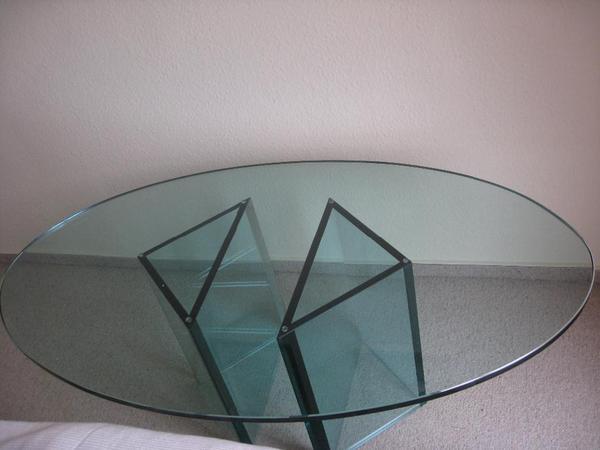 Couchtisch oval neu und gebraucht kaufen bei - Couchtisch oval glas ...