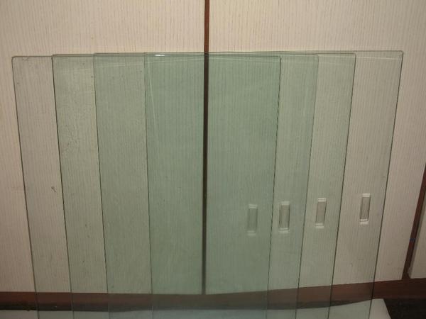Dusche Glast?r Einstellen : Nischendusche Selber Bauen : Glas Schiebet?ren mit Griffmulde 50 70