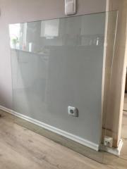 Glasbodenplatte Holzofen Glasplatte