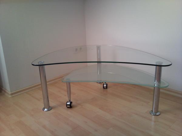 Glastisch nierenform aus couchtische aus n rnberg schweinau for Marmortisch wohnzimmer