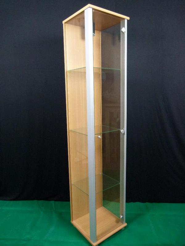 beleuchtete glasvitrine neu und gebraucht kaufen bei. Black Bedroom Furniture Sets. Home Design Ideas