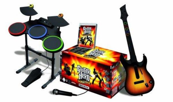 Guitar Hero- World » Playstation, Gerät & Spiele